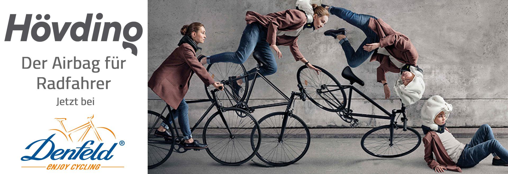 Neu bei DENFELD: Der Airbag für Radfahrer: Hövding 3