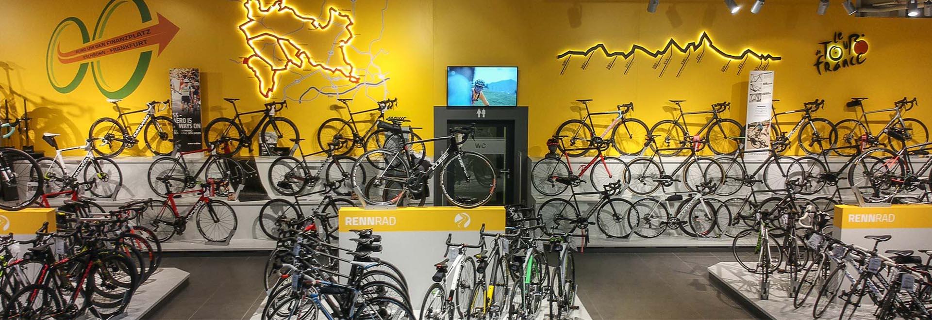 Größte Rennrad Auswahl in Hessen Fahrrad Denfeld Radsport GmbH