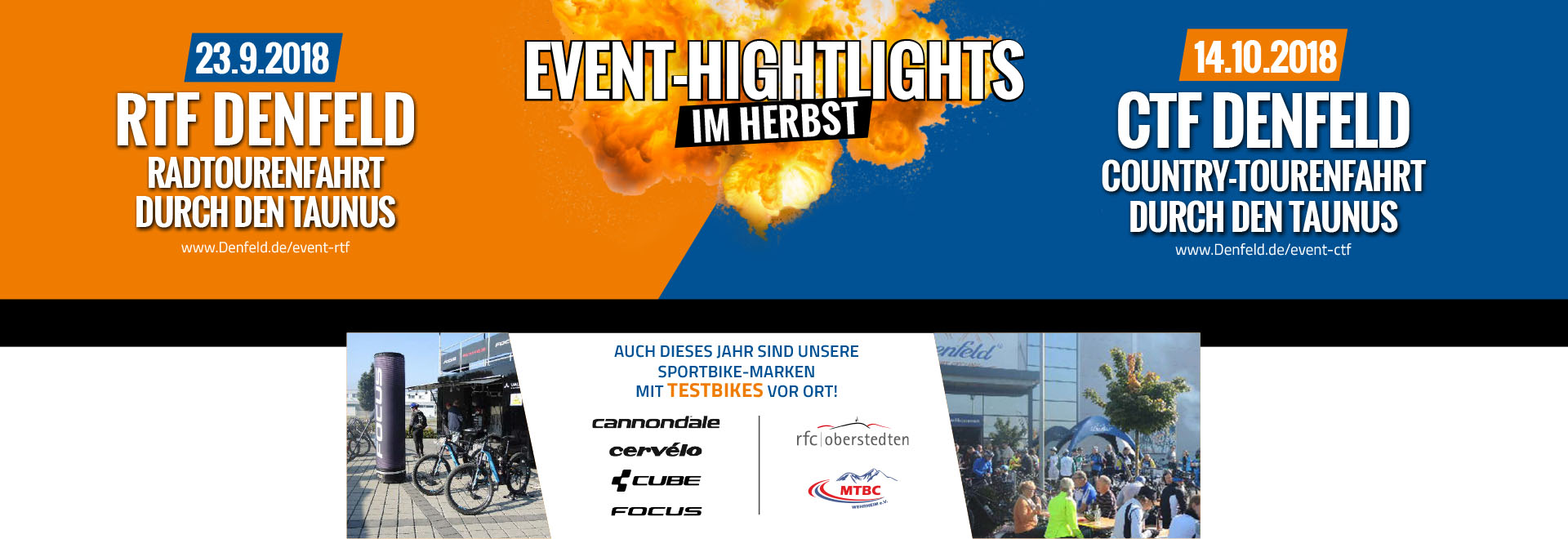 Event Highlights Herbst 2018