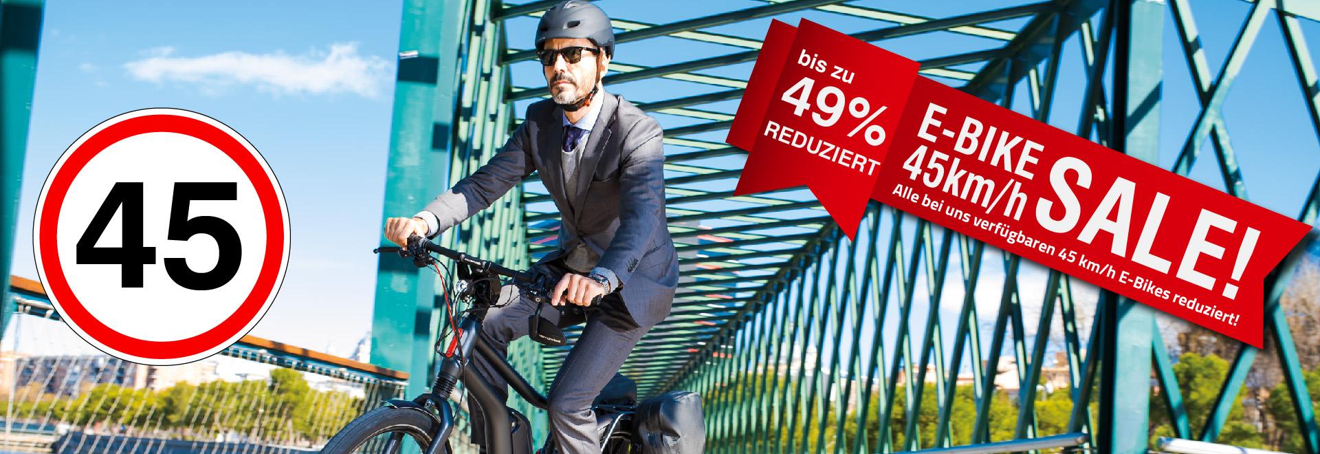 Alles muss Raus E-Bike 45km/h Sale