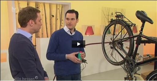 news als fahrrad experte zu gast im hr fernsehen. Black Bedroom Furniture Sets. Home Design Ideas