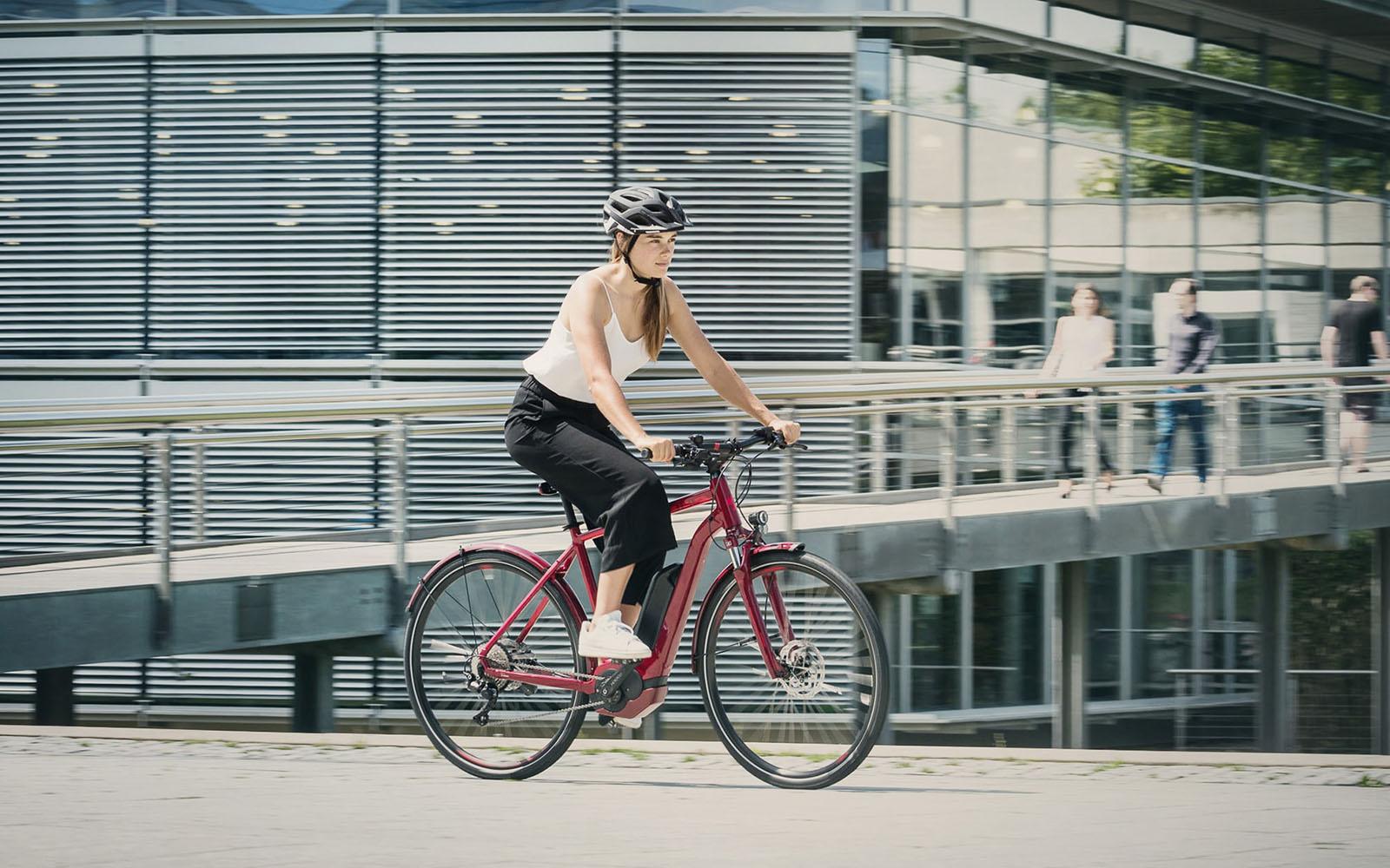 E-Crossbikes, E-Crossrad Cube hybrid Allroad