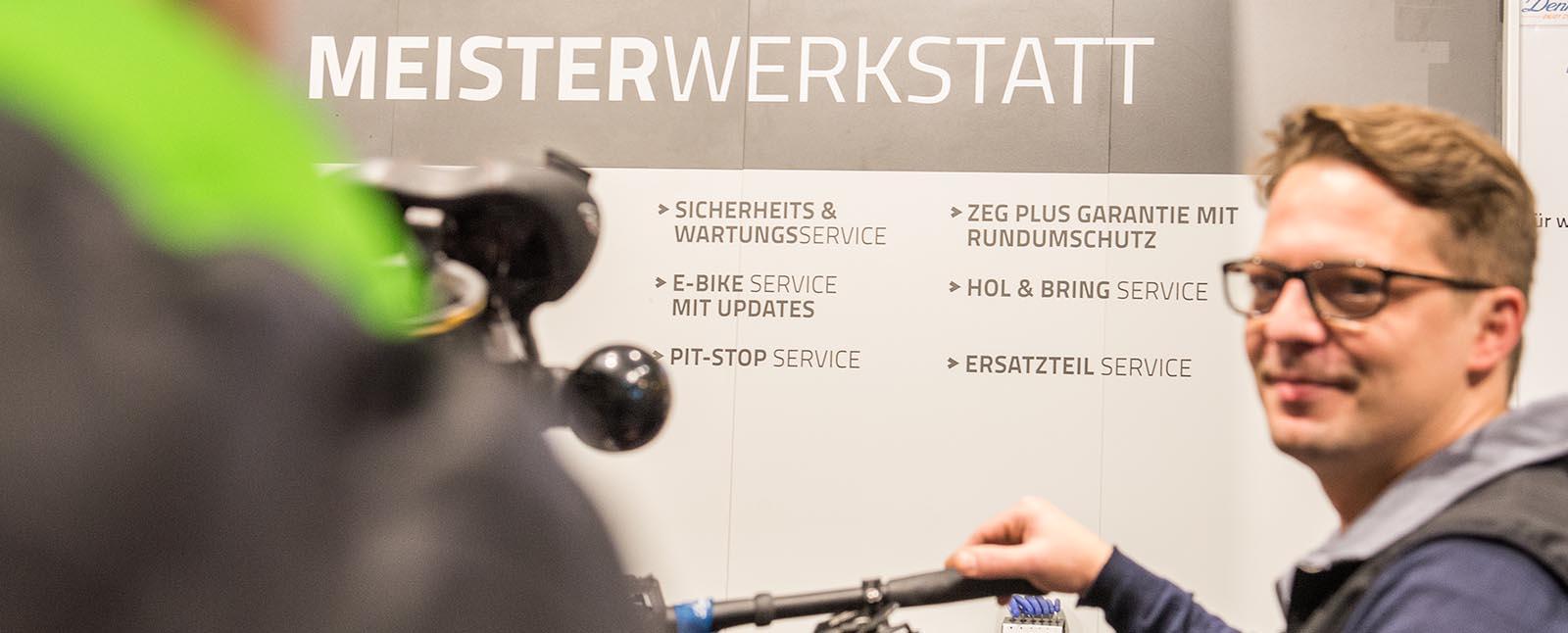 Fahrrad Denfeld Radsport GmbH Meisterwerkstatt Werkstatt Termin
