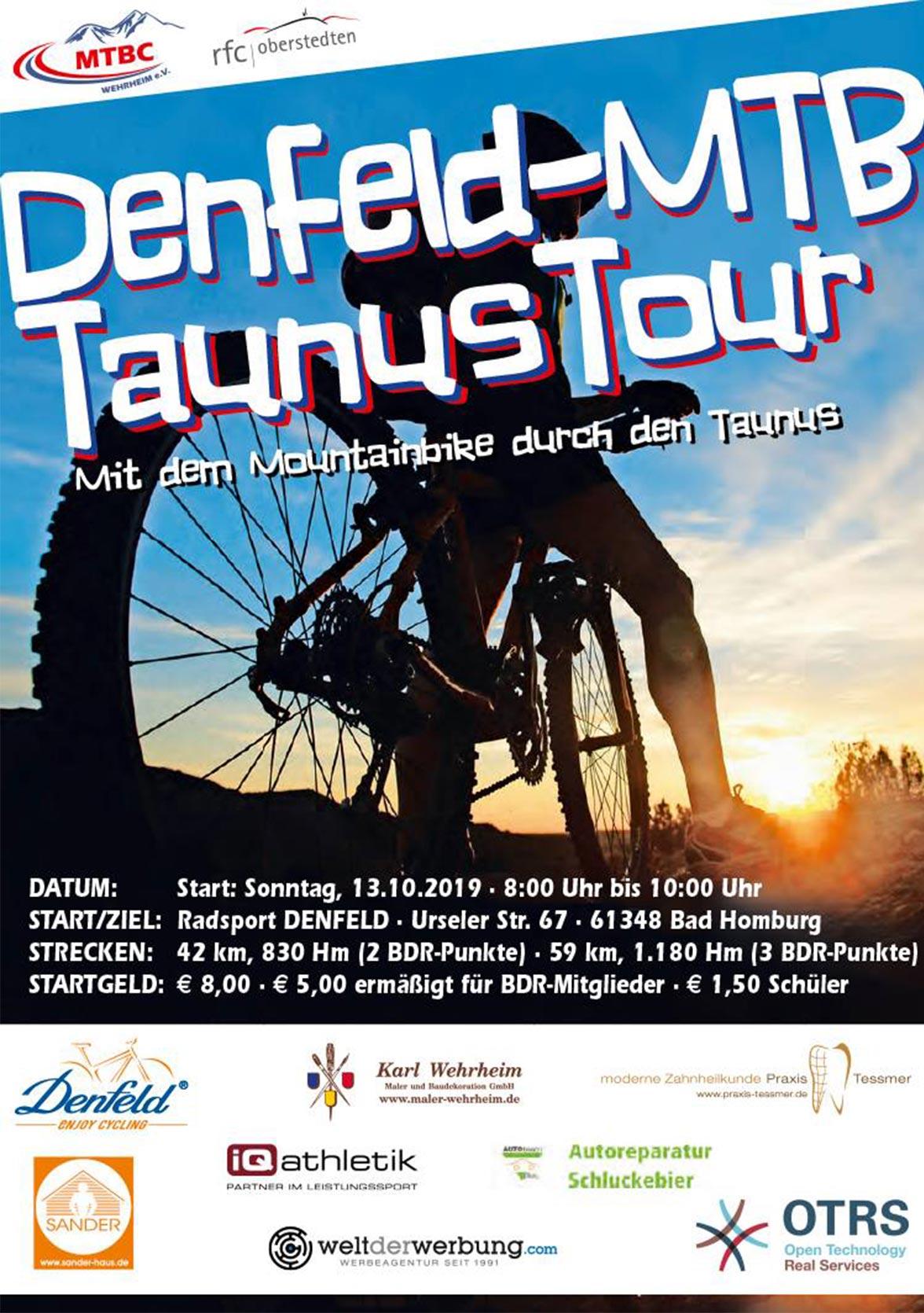 CTF Denfeld MTB Taunus Tour 2019 Bild 2018