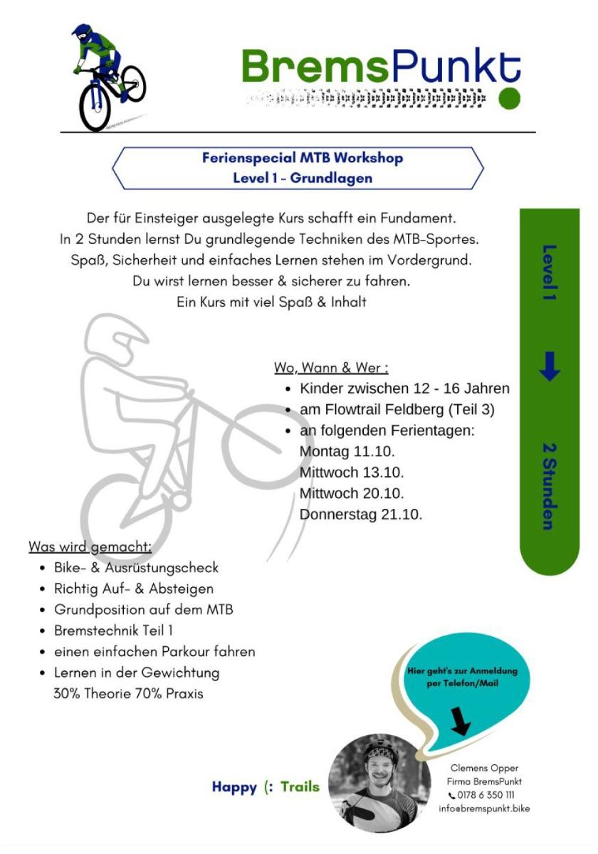 Workshop Ausschreibung