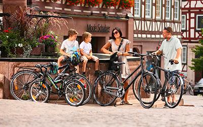 Pegasus Familien Trekkingbike Tour
