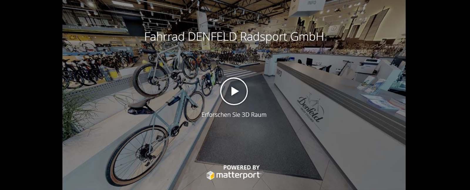 Virtueller Rundgang Fahrrad Denfeld