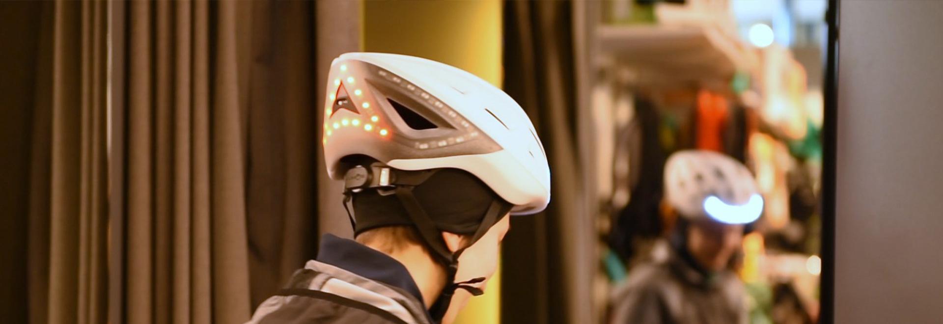 Lumos Kickstart - Der smarte Helm mit Bremslicht & Blinker