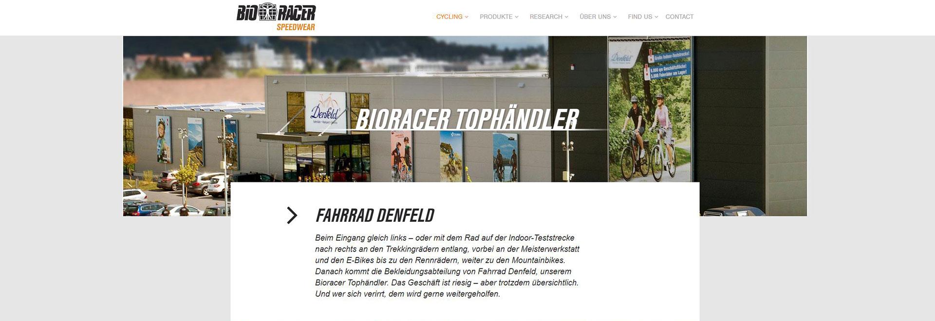 Bioracer Tophändler