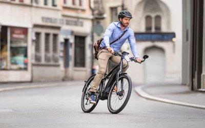 Mit dem E-Citybike gehts bestens voran