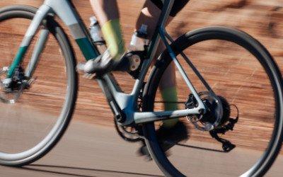 Mit dem E-Rennrad gehts schnell voran