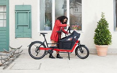 Kindertransportrad von Urban Arrow macht das Leben einfach