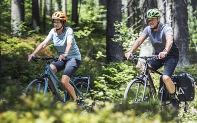 Familie Trekkingbike Tour